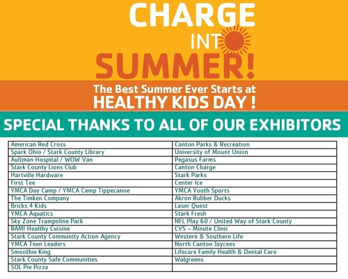 HealthyKids Day Vendors