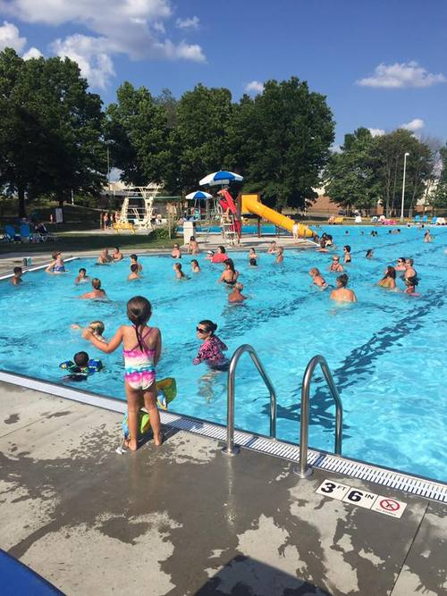 Dogwood pool for Garden city ymca pool schedule
