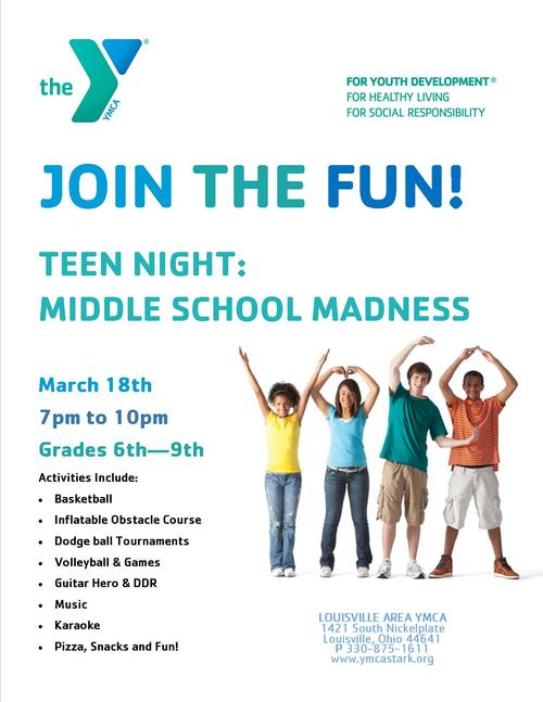 March Teen Night